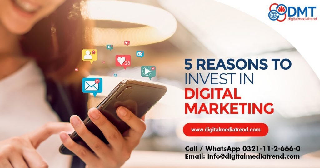 5 Real Benefits of Investing in Digital Marketing in 2021