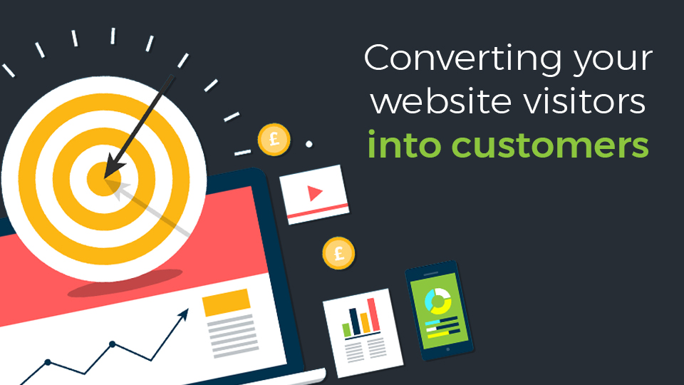 Convert your Visitors into Customers